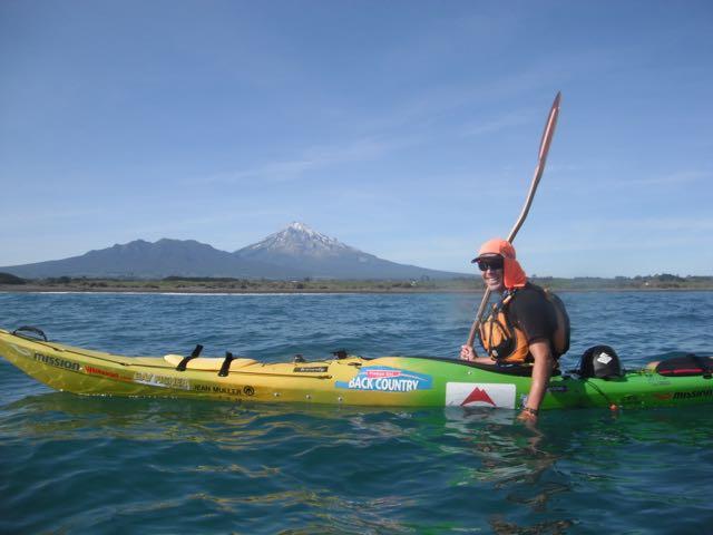 Tim Taylor paddling around NZ