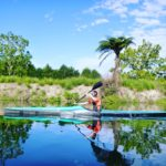 Grant Smith paddling a Ruahine Firebolt