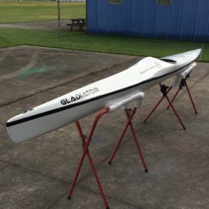 This Ruahine Gladiator is now based at Kayak HQ in Nelson as a demo kayak.
