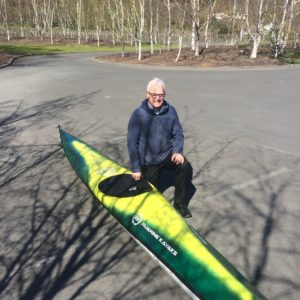 Kevin approves of the new generation of Ruahine Kayaks