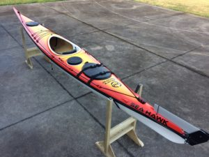 our last sea kayak